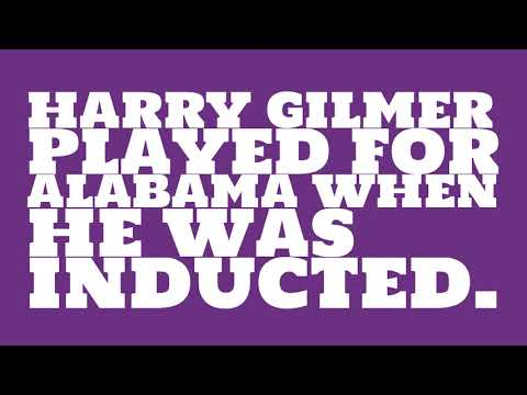 Who did Harry Gilmer play for?