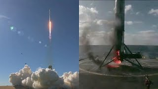 vermillionvocalists.com - SpaceX Falcon 9 launches Koreasat-5A & Falcon 9 first stage landing, 30 October 2017