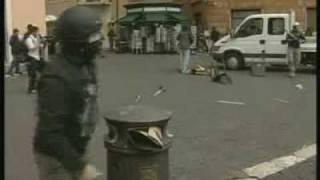Roma - Scontri Piazza Navona parte 2