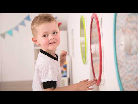 "Video: Beleduc ""Illusion Wheel"" Wall-Mounted Spinner"