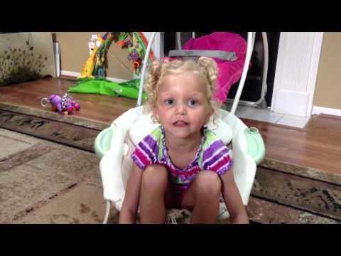 Rachel- Our Little Patriot sings God Bless America!