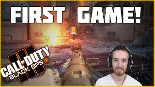 My Very First (Non-Beta) Game of Black Ops 3!