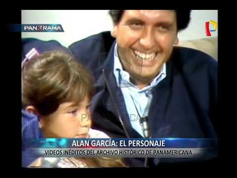 INDITO | Alan Garca en el archivo histrico de Panamericana Televisin
