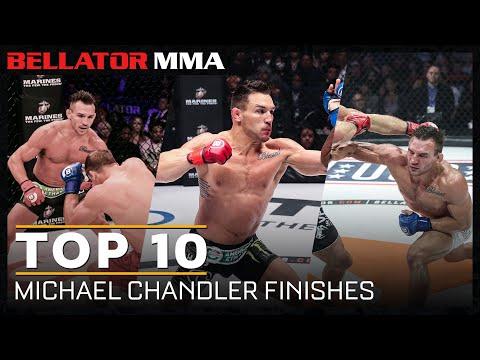Top 10 Michael Chandler Finishes | Bellator MMA