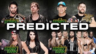 WWE Money In The Bank 2015 Predictions