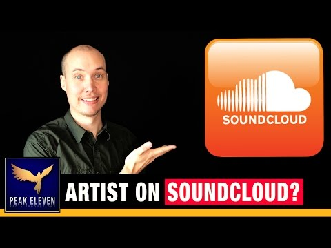 Soundcloud Profile: Are YOU an artist on Soundcloud yet?