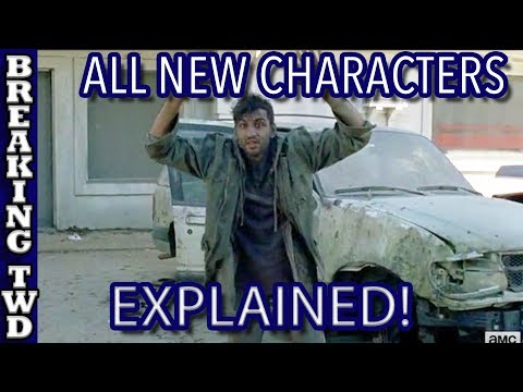 New Characters EXPLAINED | How To Tell If A New Character is Important | The Walking Dead Season 8