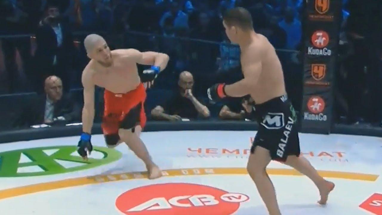 Бой Марат Балаев - Юсуф Раисов / Реванш закончился в первом раунде