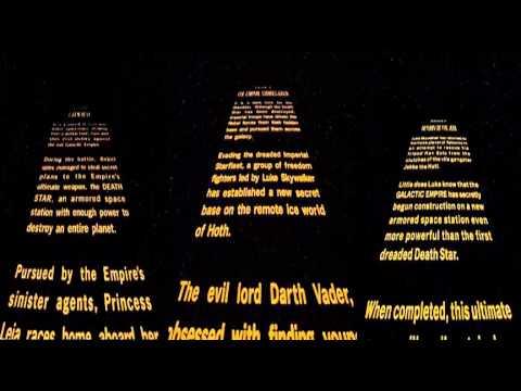All 3 Star Wars Original Trilogy Opening Crawls