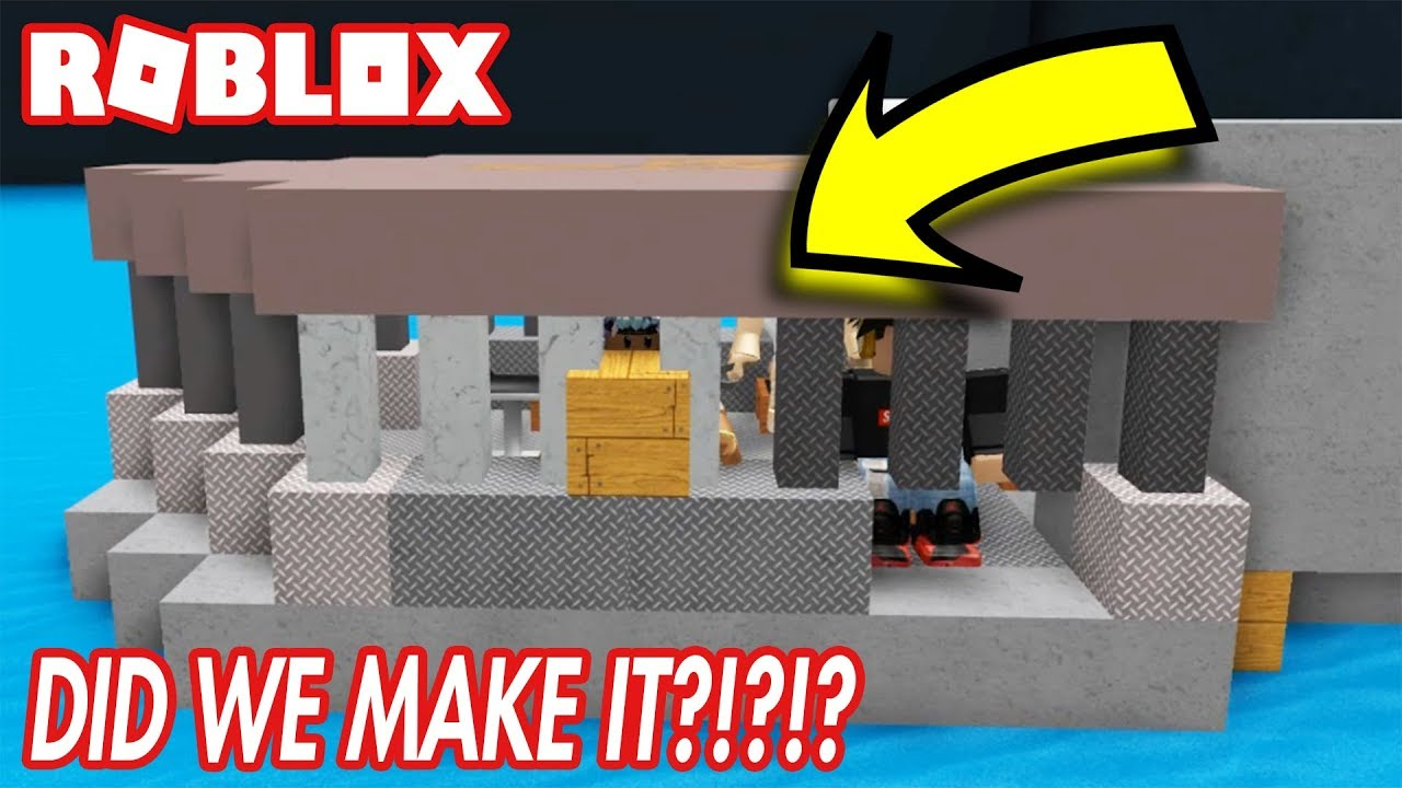 Build A Boat For Treasure In Roblox Did We Make It Youtube