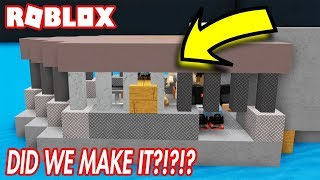 BUILD A BOAT FOR TREASURE IN ROBLOX! *DID WE MAKE IT?! *