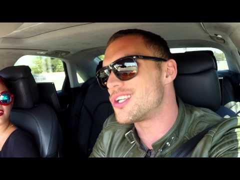 Transporter Refueled Car Ride With Ed Skrein