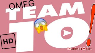 How to draw the Team 10 Logo