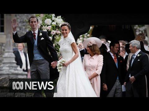 Pippa Middleton weds James Matthews in front of royal audience