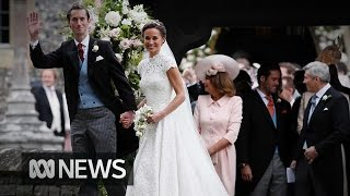 Pippa Middleton weds James Matthews in front of royal audience