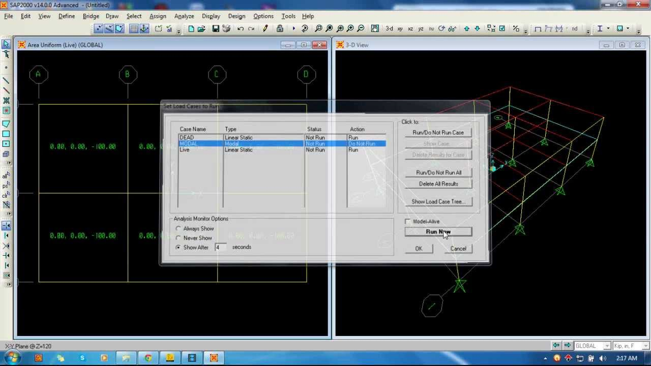 structural analysis of a building using sap software