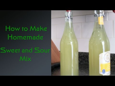 How to Make Homemade Sweet and Sour Mix