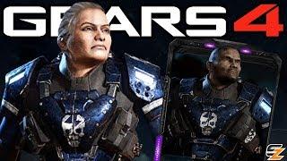 Gears of War 4 - New UIR Vanguard Packs, Gearsmas Characters, TCA Program & More! (Gears 4 News)