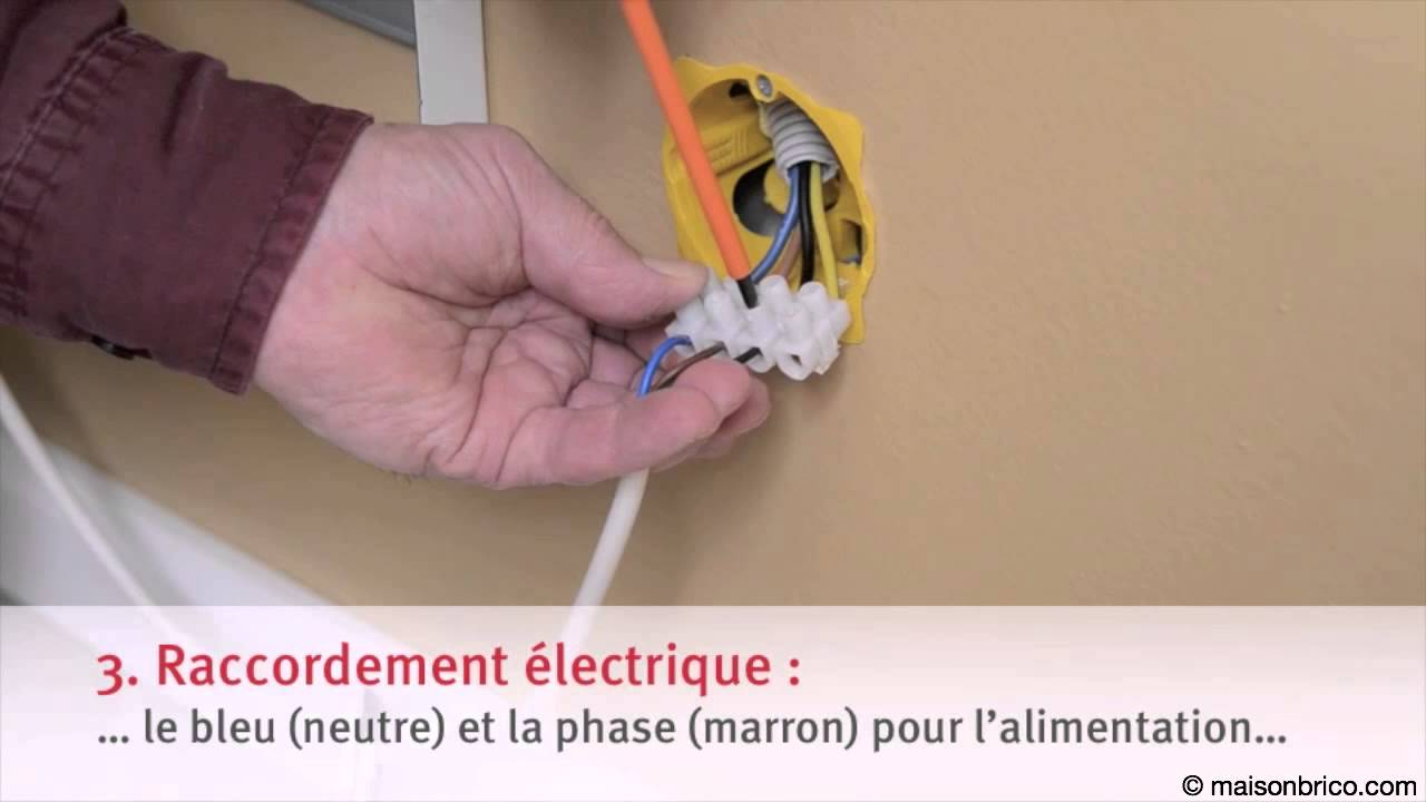Installer Un Radiateur Electrique Youtube
