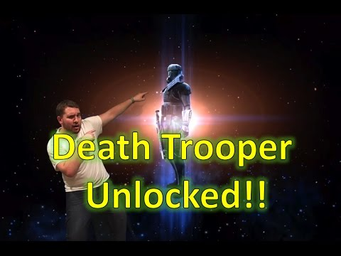 Star Wars Galaxy of Heroes: Death Trooper Unlocked w/ Full Empire Team Gameplay!