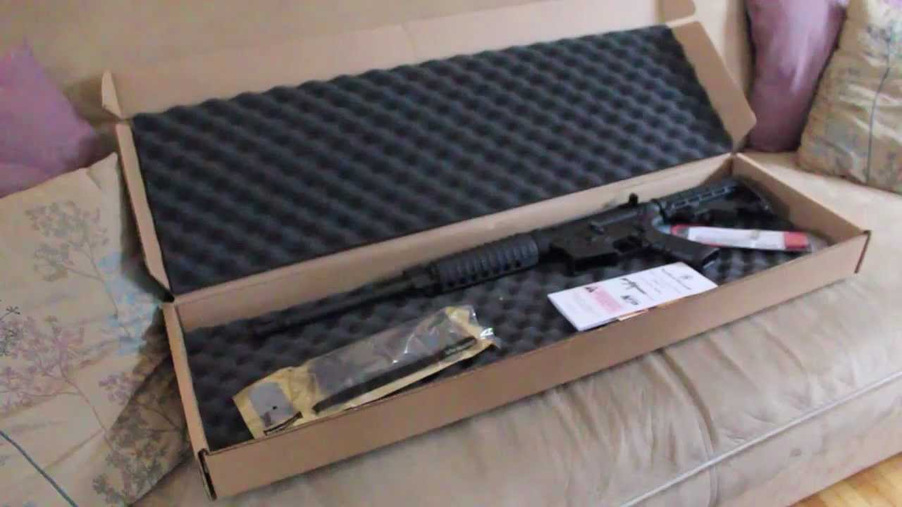 Smith And Wesson 12039 Unboxing: Unboxing A Smith And Wesson M&P 15
