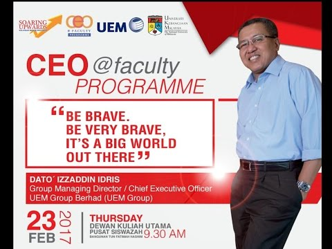 CEO @ Faculty Programme