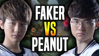 Video Faker vs Peanut! - Faker Most Crazy Game Showing Challenger Korea! - SKT T1 Faker Plays Fizz Mid! download MP3, 3GP, MP4, WEBM, AVI, FLV Agustus 2017