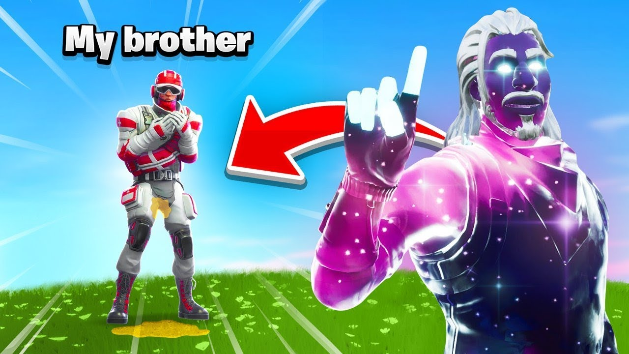 251736e7c6aa30 So I found my brother In Fortnite and then this happened - YouTube