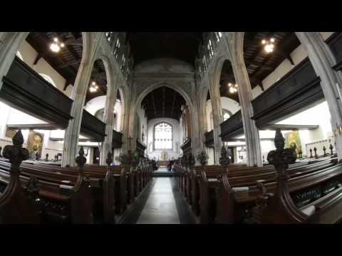 Cambridge Church - Inside view