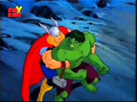 Hulk vs Thor (2nd Battle)