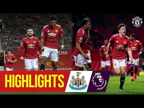 Manchester United 3 - 1 Newcastle United (Feb-22-2021) Premier League Highlights