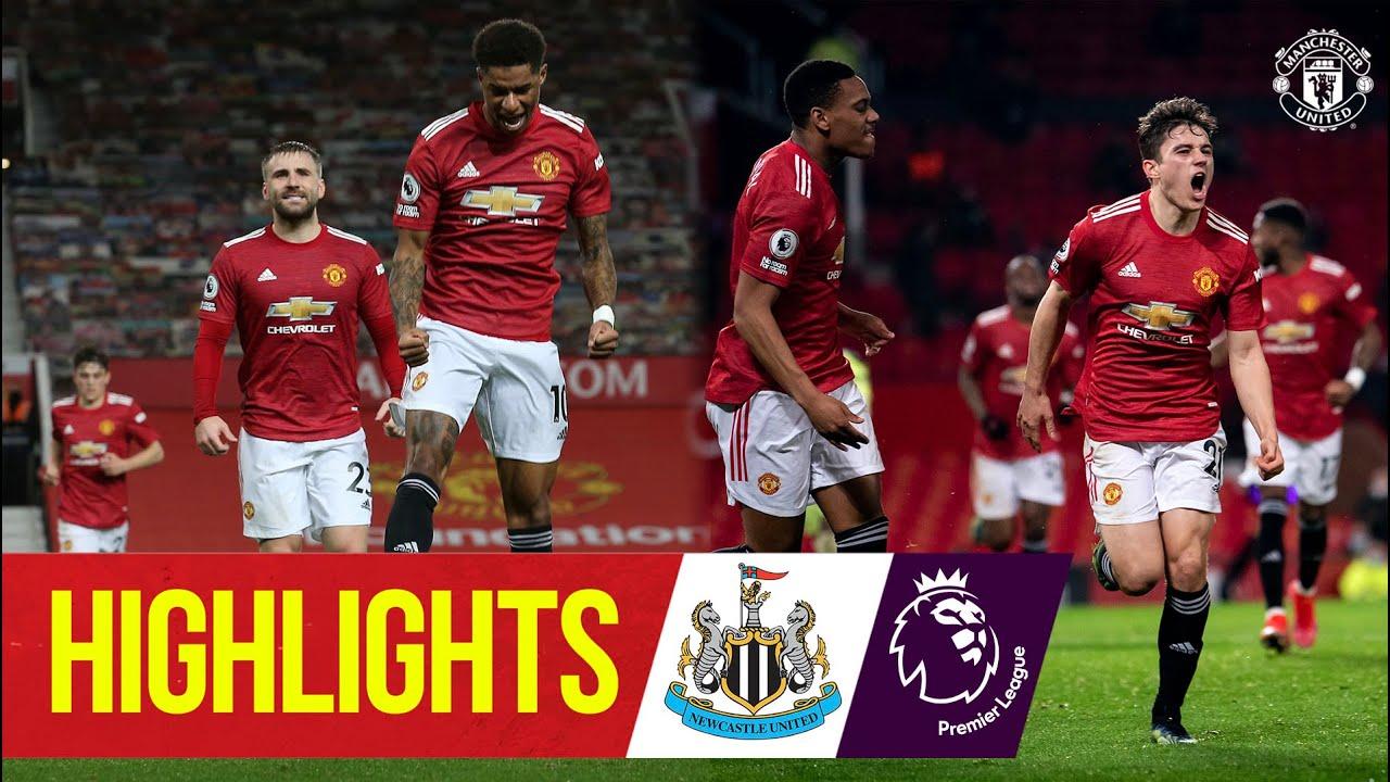 Download Rashford, James & Fernandes score in Toon win | Manchester United 3-1 Newcastle | Premier League
