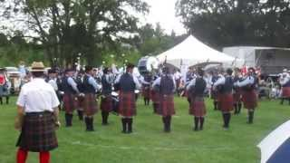78th Fraser Highlanders Pipe Band - MSR - Cambridge 2015