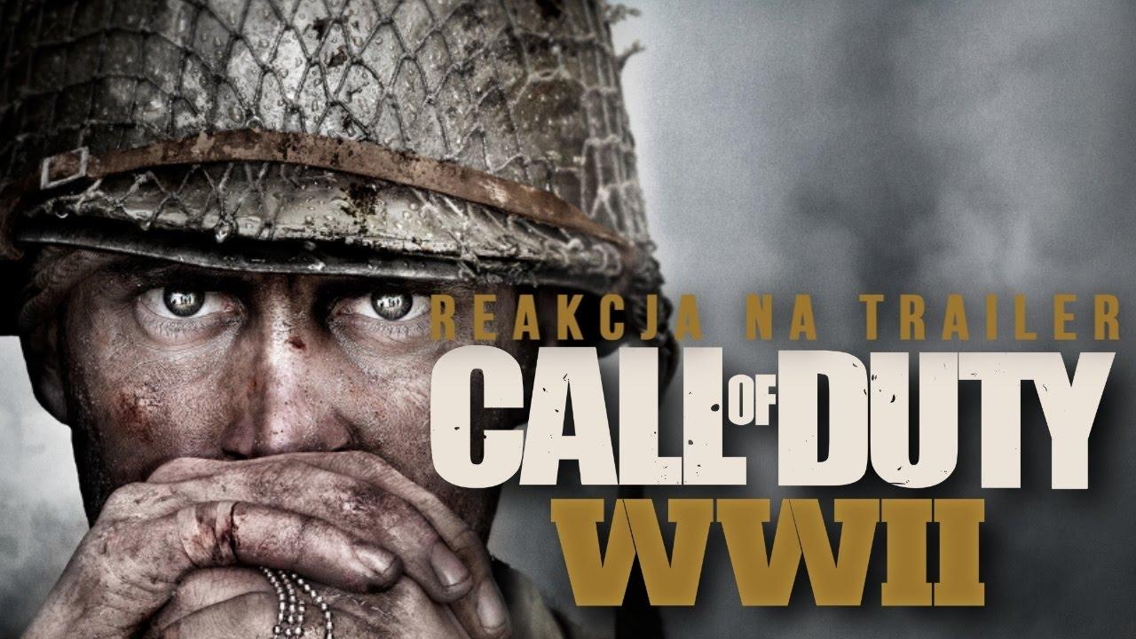CALL OF DUTY: WWII – Reakcja na Trailer