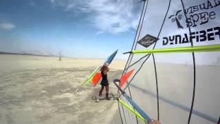 Burning Man 2014 Landsailing