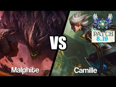 Vidéo d'Alderiate : [FR] MALPHITE VS CAMILLE - JE JOUE LE CAILLOU - 8.19 - DIAMANT 1