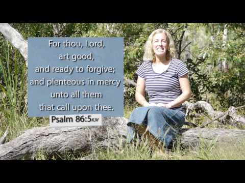 Psalm 86:5  KJV - For thou Lord art good - Musical Memory Verse