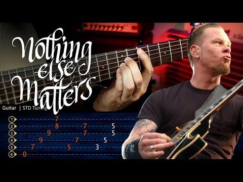 Nothing Else Matters METALLICA Guitar Lesson  TABS | Guitarra Cover Christianvib