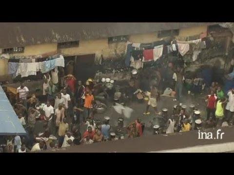 Gabon : grand marché de Libreville