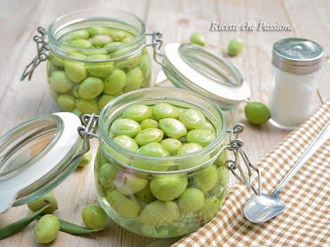 Olive in salamoia - Ricetta calabrese - Ricette che Passione