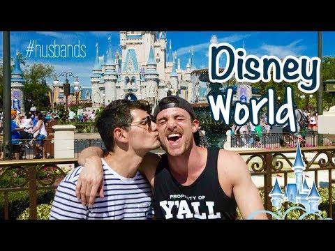 HUSBANDS GO TO DISNEY WORLD | GAY COUPLE VLOG | PART1 | PJ & THOMAS