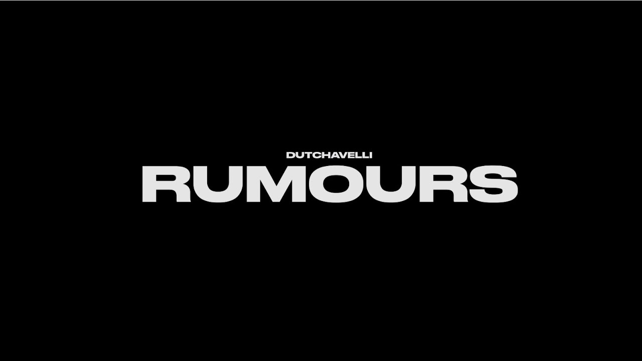 Dutchavelli - Rumours (Official Music Video)