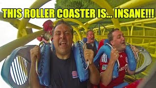 OMG! This Roller Coaster is INSANE!!! Ultra Twister at Rusutsu Resort Japan