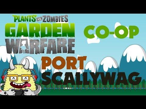 Plants Vs Zombies Garden Warfare Split Screen Co Op Port Scallywag Playthrough