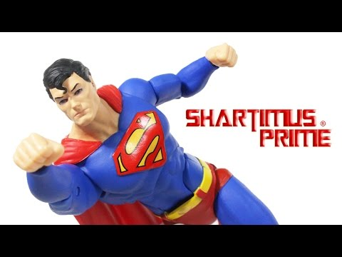DC Icons Superman Man of Steel Comic DC Collectibles 6 Inch Scale Toy Action Figure Review