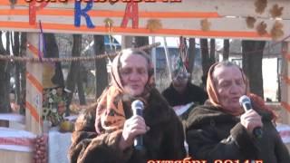 Деревенские бабушки поют о войне Очень душевно Экскурсия в Любавичи