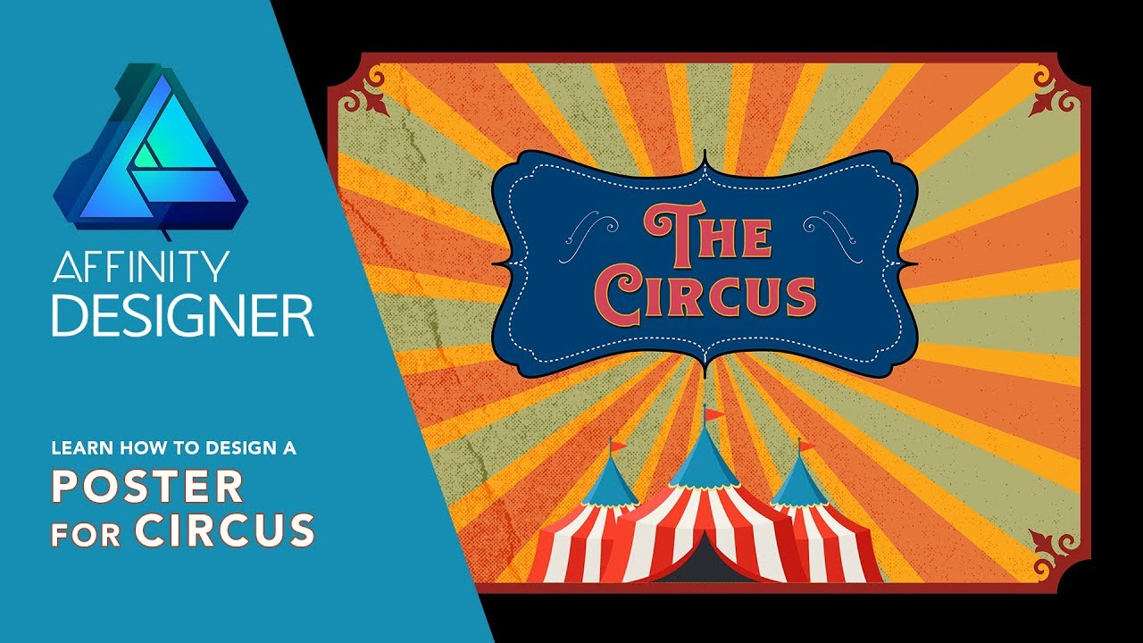 Affinity Designer for iPad - How to Design A Poster for Circus