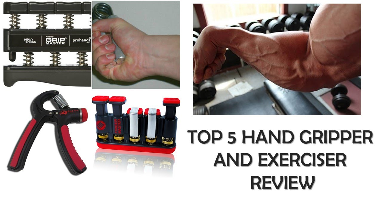 Top 5 Hand Grippers and Exercisers Review - YouTube
