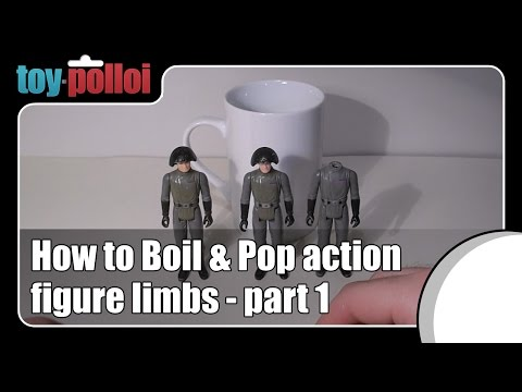 Fix it Guide - Boil and Pop heads on Vintage Star Wars Figures