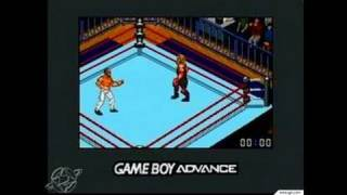 Fire Pro Wrestling 2 Game Boy Gameplay